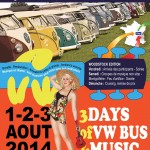 Poster of  the event French VW meeting, 2014