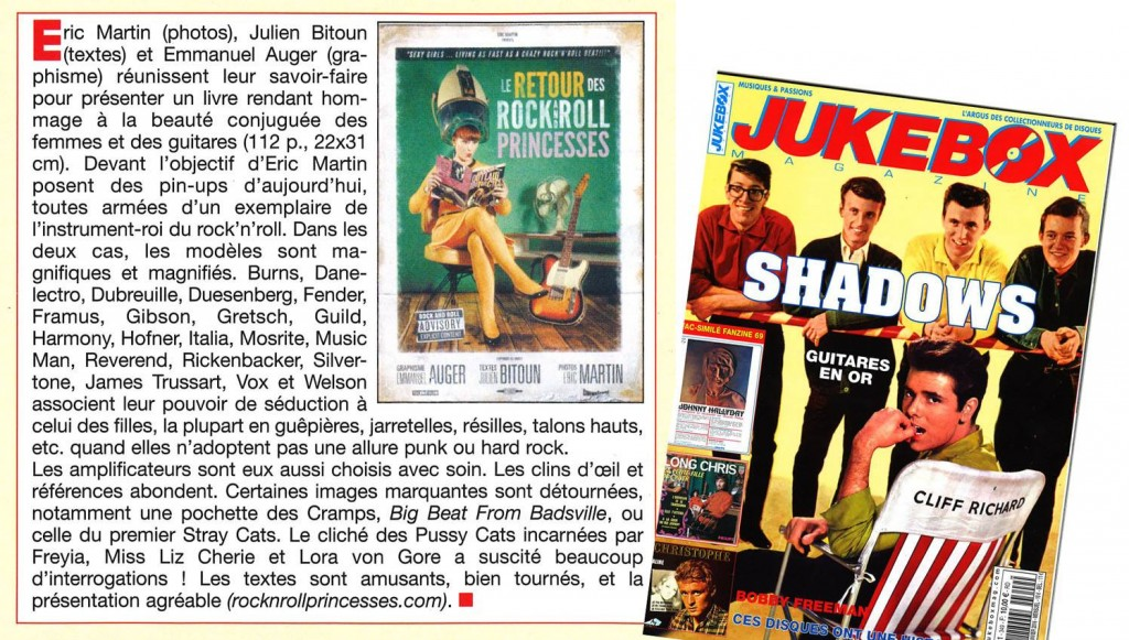 Juke box Magazine, jan 2016 (FR)