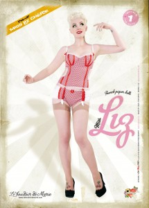 Pin up Doll by Eve Saint Ramon, for Le Boudoir de Marie