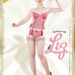 Advertising for the new collection of Le Boudoir de Marie, summer 2011