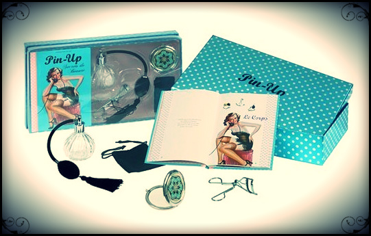 Coffret Pin-up, hachette, 2013