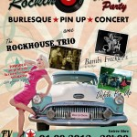 Poster of the Rockin Pin-up Party, 2012