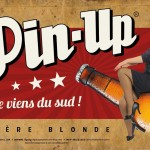 Big size promo banner for Pin up Beer
