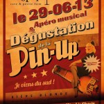 Promo picture for the event for Pin-up beer, 2013