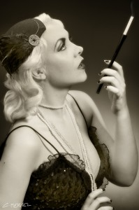 Roaring 20s by Christophe Merviel, hair: Madame Sans Gêne, Make up: McUp Coka