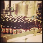 At the factory, producing the special Christmas ginger Pin-up Beer