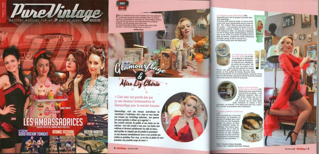 Pure Vintage Magazine 6, april-may-june 2015