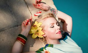 Palm Springs Paradise by Manon Pello for Mamaliscious Clothing