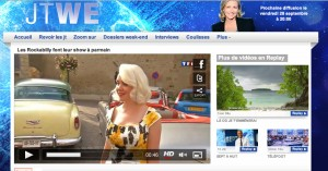 New on TF1, sept 2012