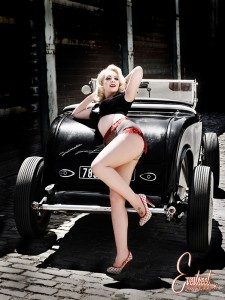 Hot Rod Girl by Eve Saint Ramon