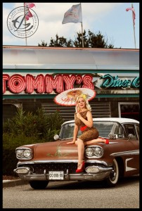 Tommy's Diner by Eric LaGarda, car Low Flyers CC