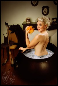 The bath of the witch by Eric LaGuarda