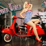 Promo picture for It's a pin up world, expo in Toulouse