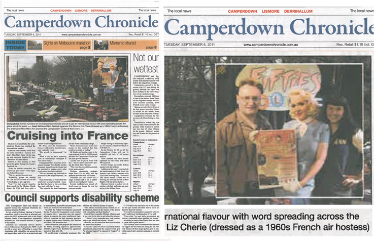Camperdown Chronicle, AUS, sept 2011