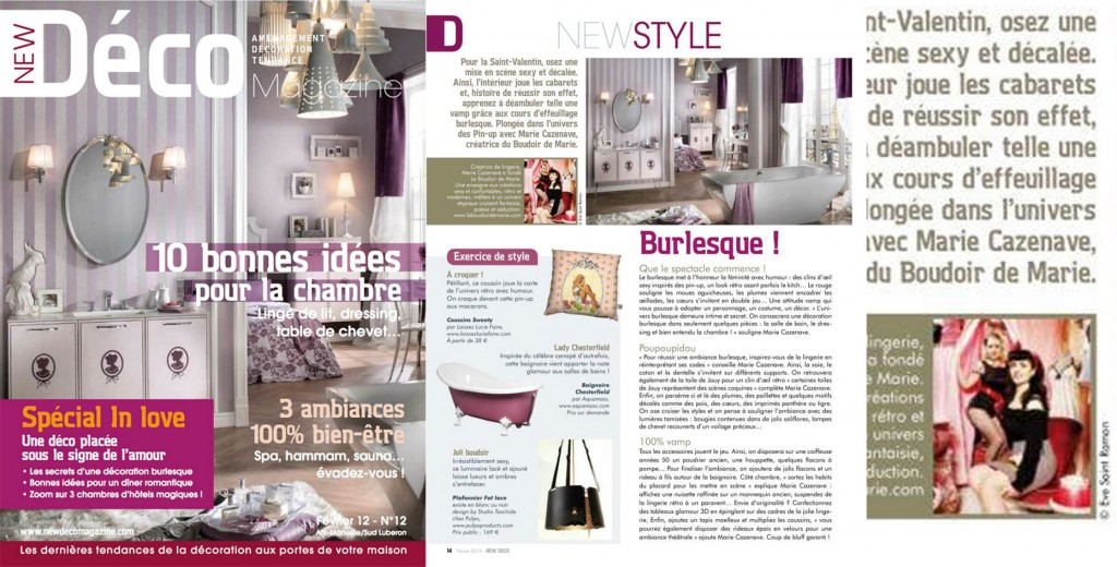 New deco mag, feb 2012