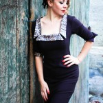 Miss Brown to you, by Manon Pello, dress Mamaliscious