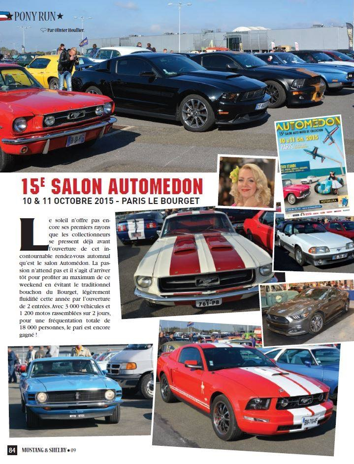 Mustang and Shelby magazine, jan 2016, FR