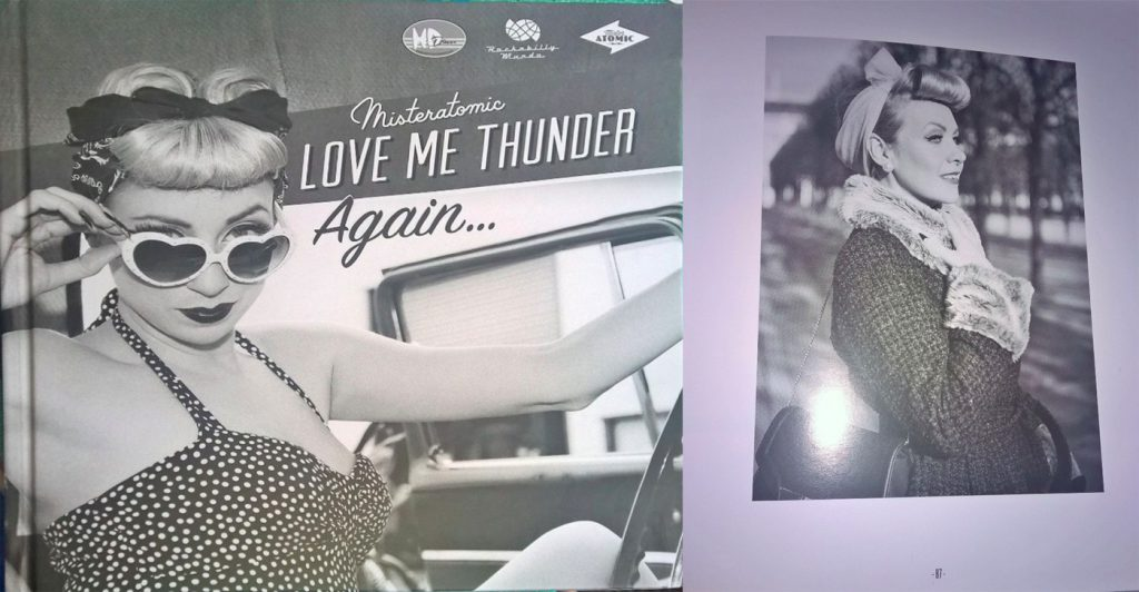 Love me thunder again, book by mister Atomic, jan 2016, FR