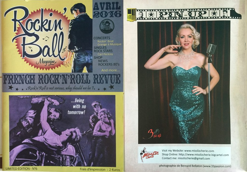 Rockin' Ball Magazine, Avril 2016, FR